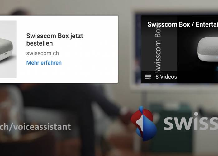Swisscom Box (3-sprachig)
