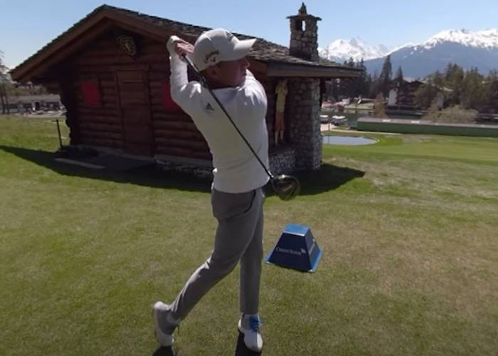 360 Grad -Golferlebnis mit Sergio Garcia